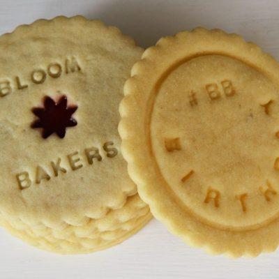 Bespoke corporate biscuits bloom bakers