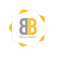 Small logo size of BLoom Bakers