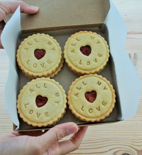 ALl my love biscuits by Bloom Bakers