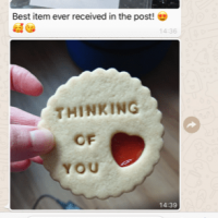 In times of Covid 19 Bloom Bakers is sending out free kindness biscuits