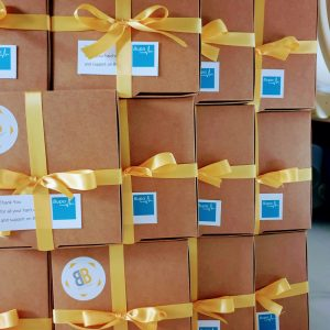 Bupa order thank you biscuits from Bloom Bakers