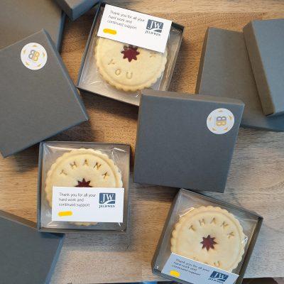 Jeld wen multiple personalised jam biscuits