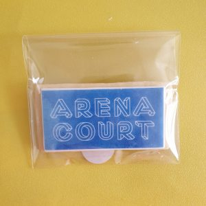 Arena Court branded biscuits made by Bloom Bakers