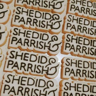 SHedid and Parish hand iced vegan biscuits