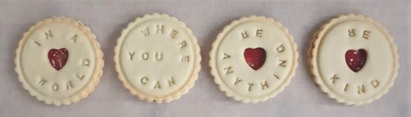 Be kind jam biscuits bloom bakers