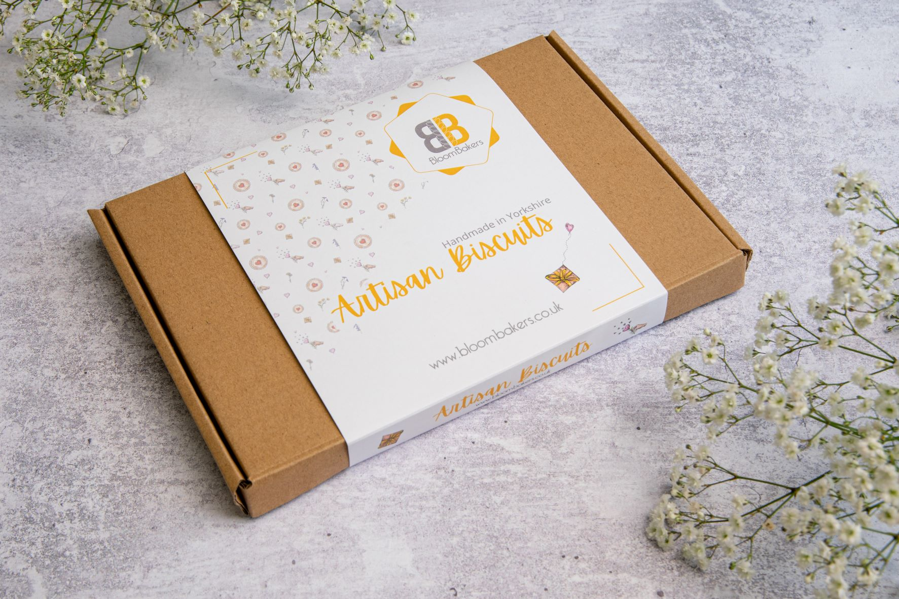 artisan biscuit letterbox friendly box