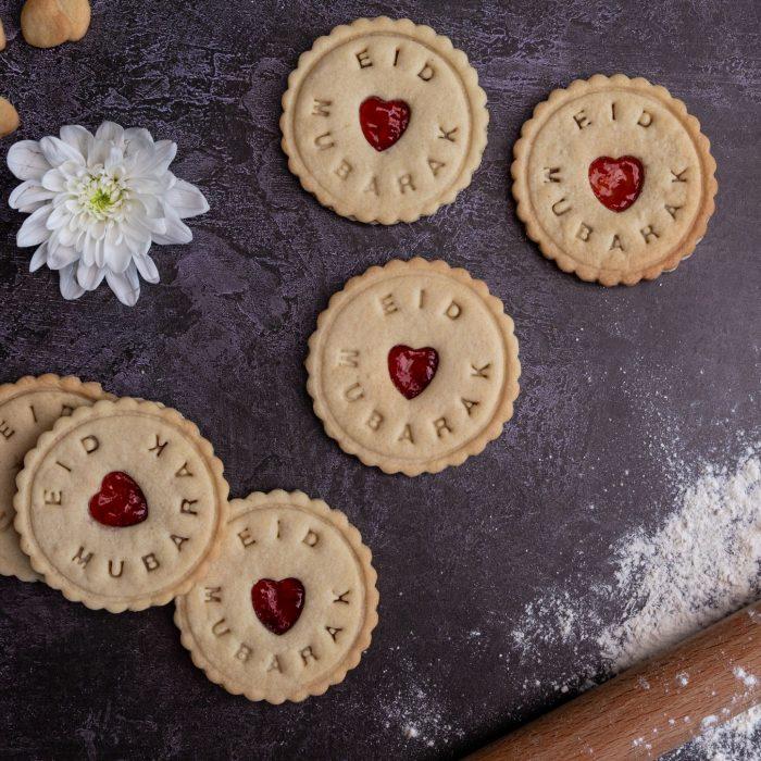 Eid mubarak biscuit gift