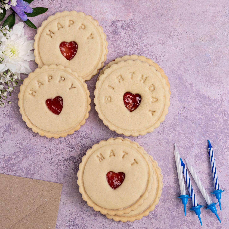 birthday biscuits