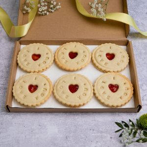 I love you biscuits in letterbox friendly gift box