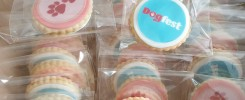 Dog Fest 2019 bagged biscuits made by Bloom Bakers