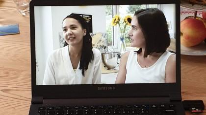 Lisa and Saskia Bloom Bakers interview