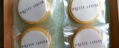 branded biscuits for Pretty Lavish