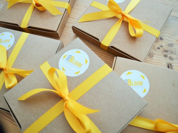 Few small bespoke biscuits boxes