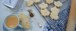 Earl grey biscuits Bloom Bakers x Twist Teas